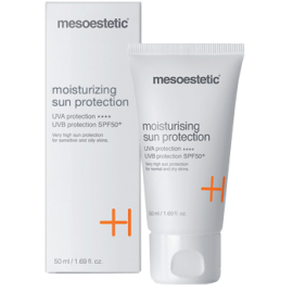 Kem chống nắng cao cấp Mesoestetic Moisturizing SPF 50+