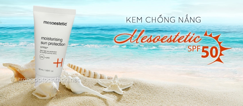 Kem chống nắng cao cấp Mesoestetic SPF 50+