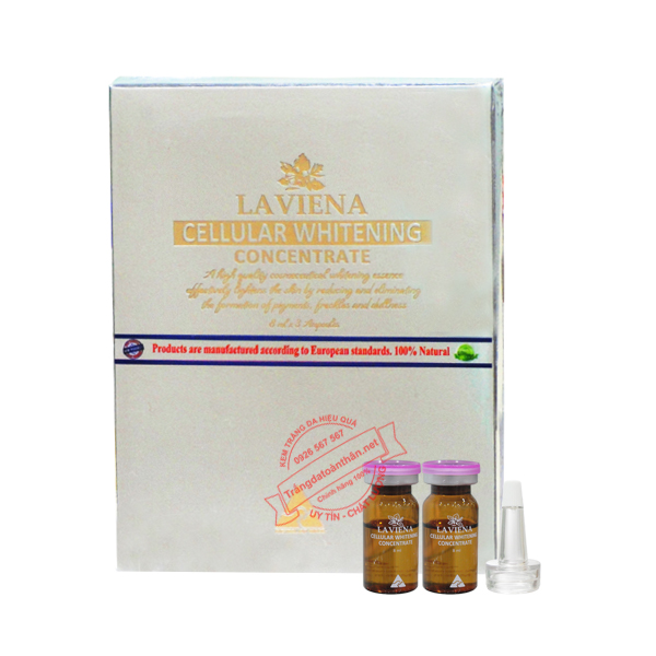 Tinh Chất Trắng Da Laviena Cellular Whitening Concentrate_1
