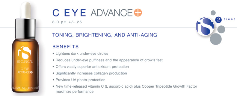 Serum Vitamin C trị thâm quầng mắt iS Clinical C Eye Advance